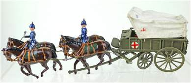 Britains Royal Army Medical Service Wagon Pre War