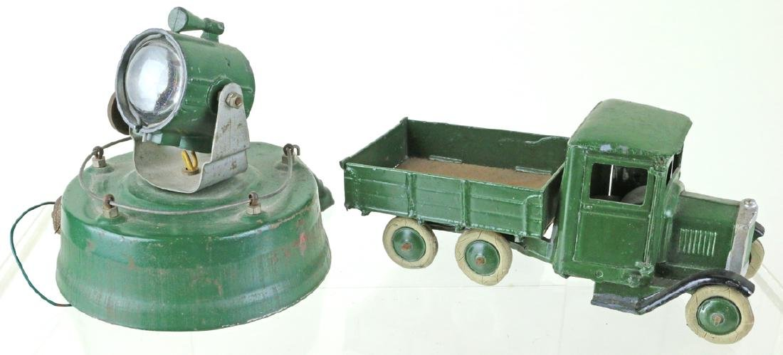 Britains Military Truck Searchlight Lot