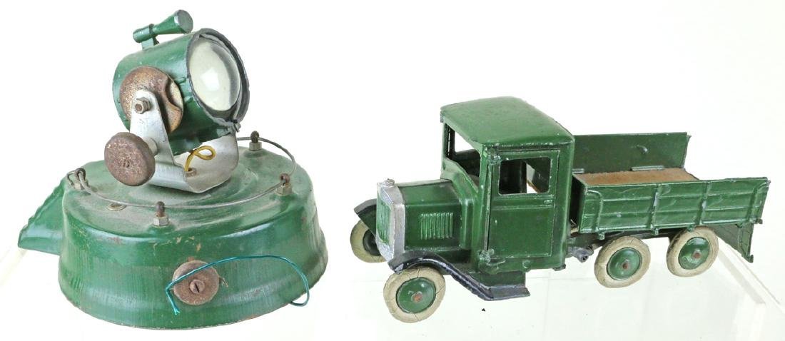 Britains Military Truck Searchlight Lot - 2