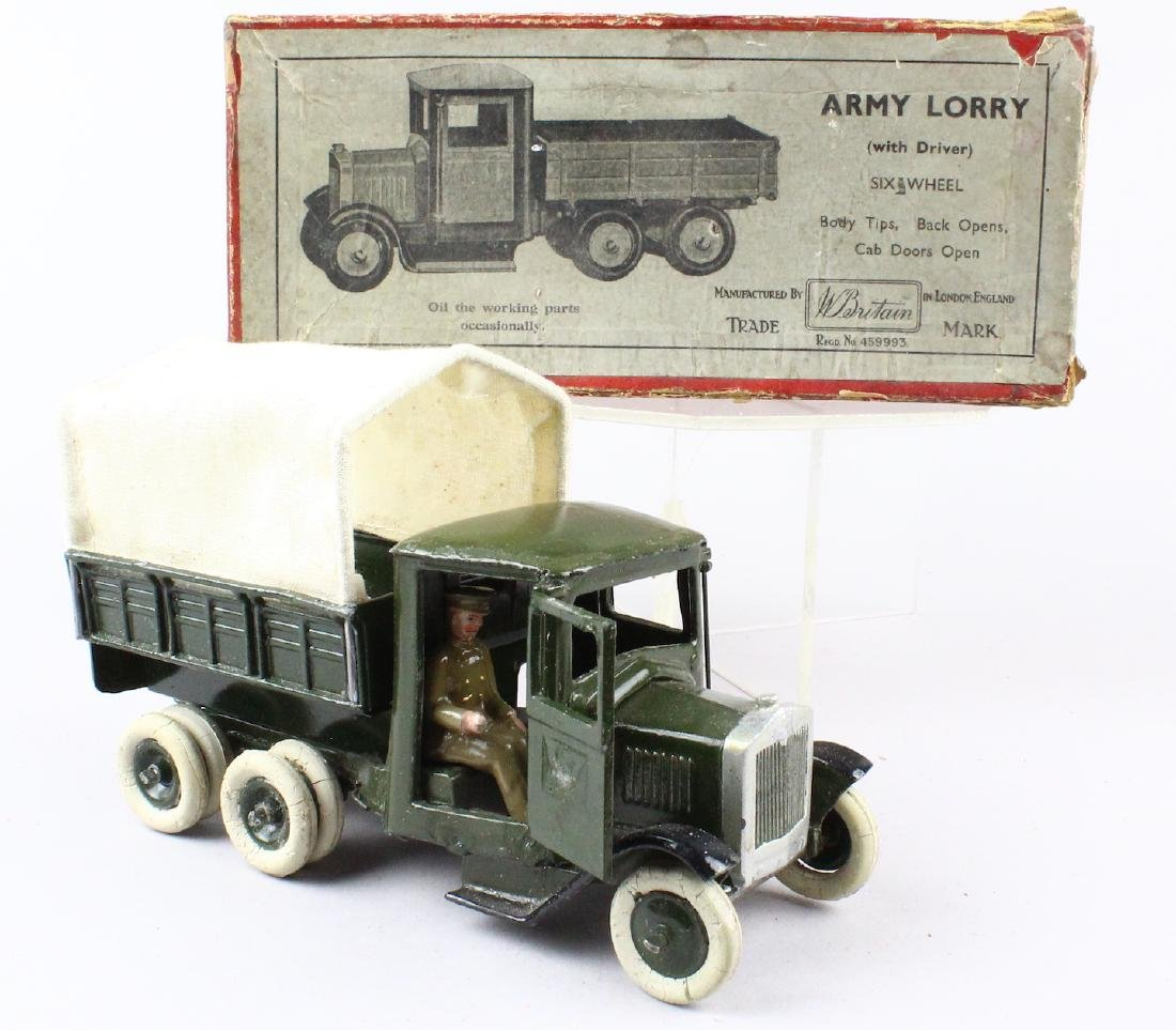 Britains Army Lorry & Box