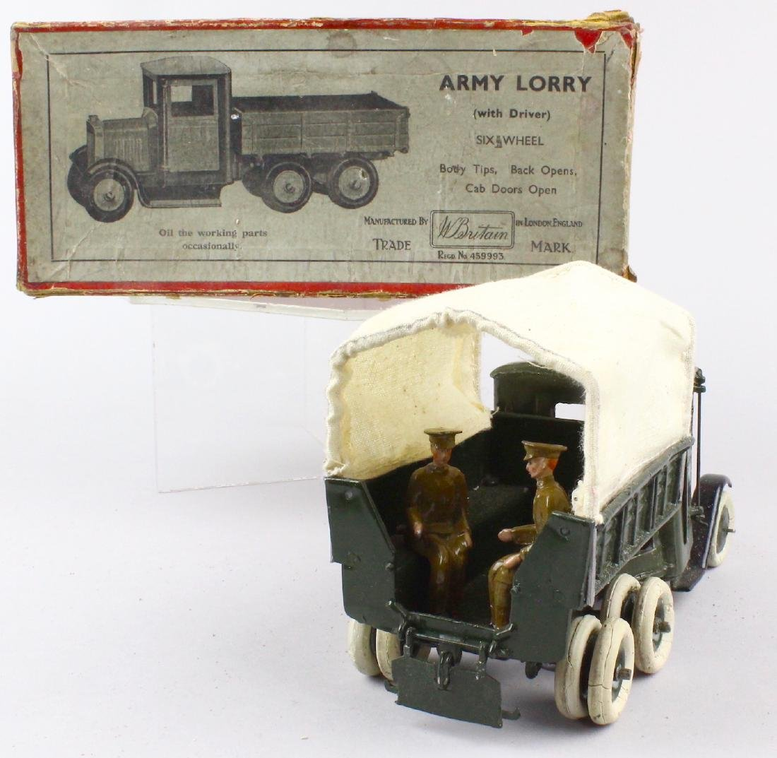 Britains Army Lorry & Box - 3