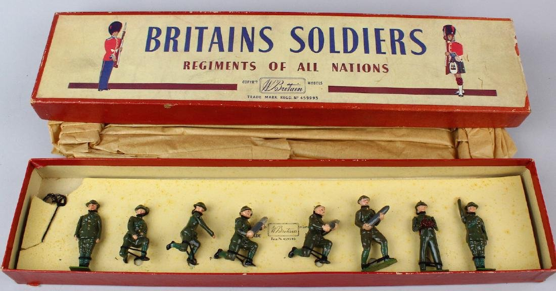Britains The Royal Artillery #1730 In Box