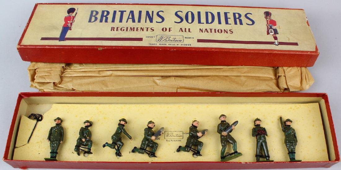 Britains The Royal Artillery #1730 In Box - 2