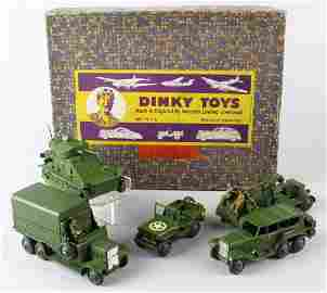 Dinky Military Set No. 5 Mint in Box