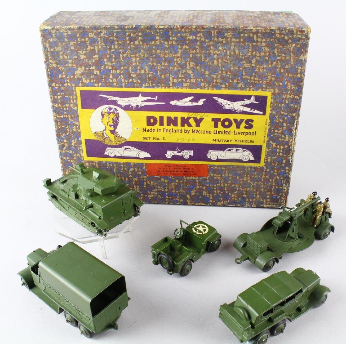 Dinky Military Set No. 5 Mint in Box - 3