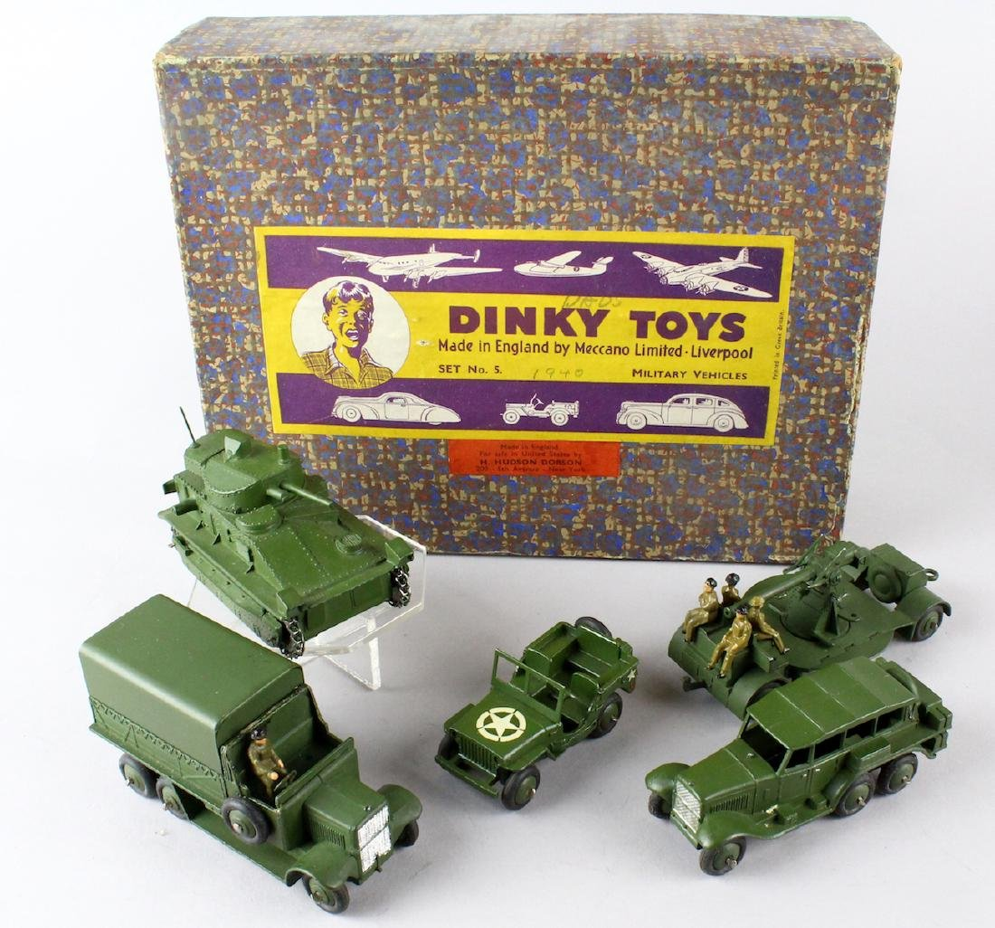 Dinky Military Set No. 5 Mint in Box - 4
