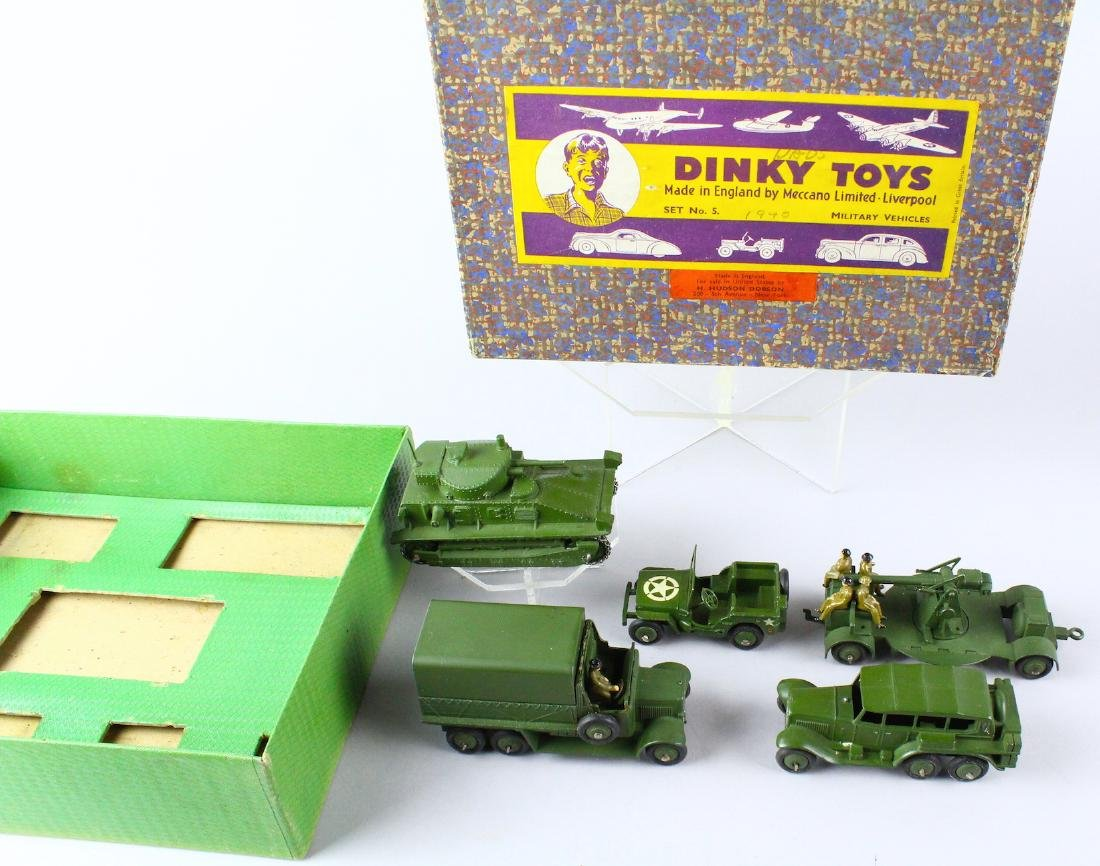 Dinky Military Set No. 5 Mint in Box - 5