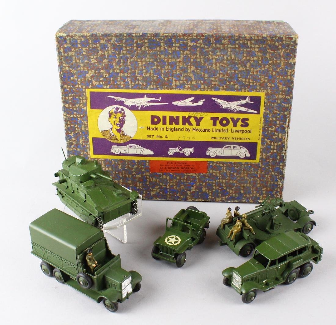 Dinky Military Set No. 5 Mint in Box - 6