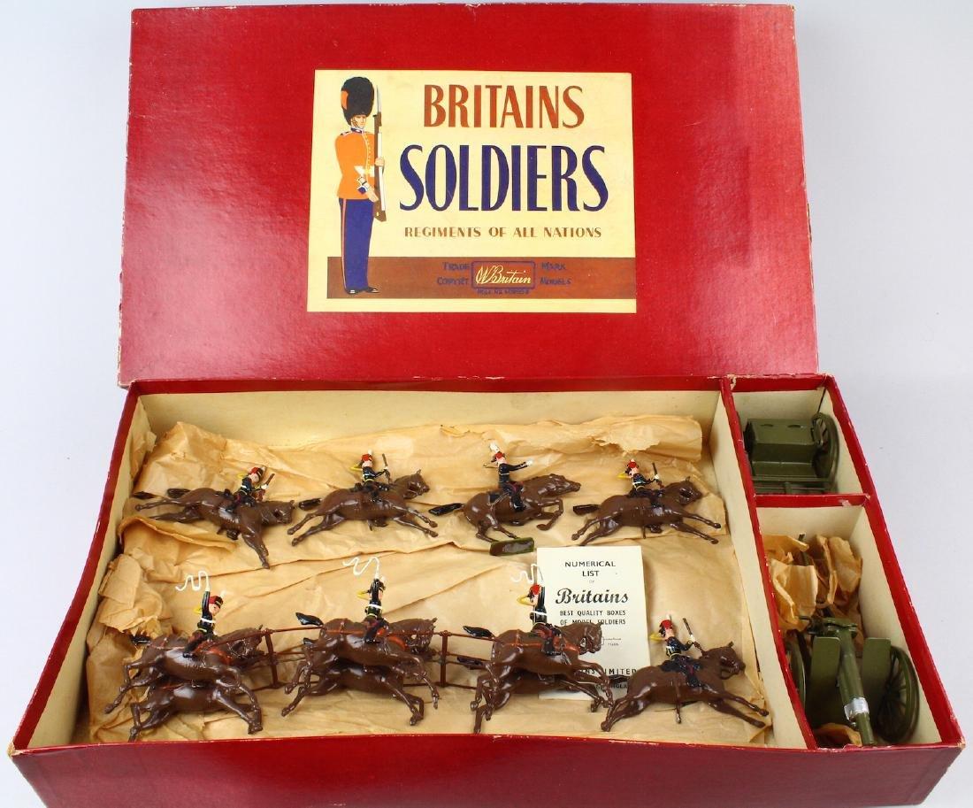 Britains Royal Horse Artillery #39 Gun &Escort