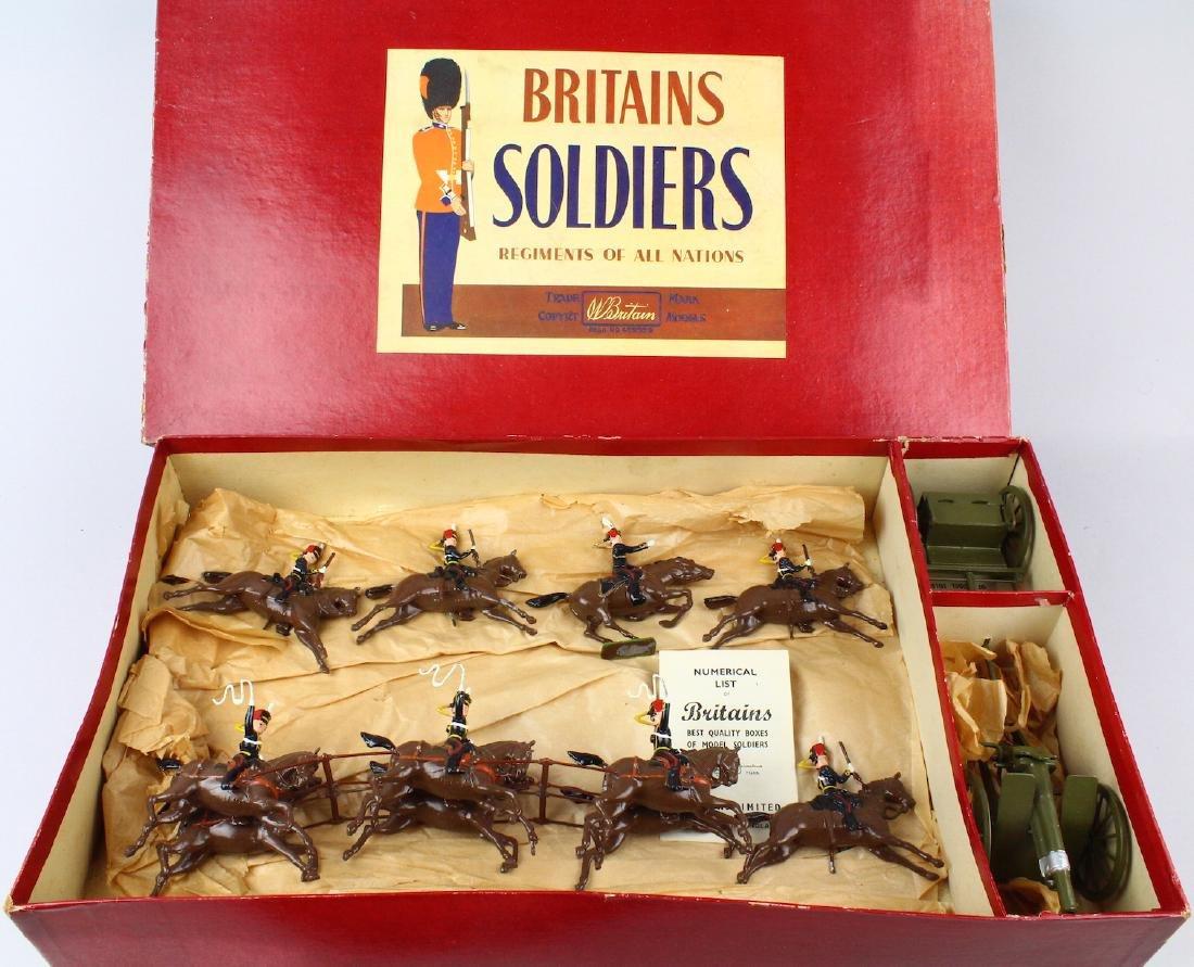 Britains Royal Horse Artillery #39 Gun &Escort - 5