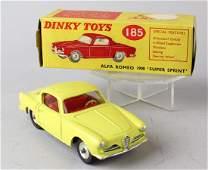 Dinky Alfa Romeo 1900 Super Sprint #185 in Box