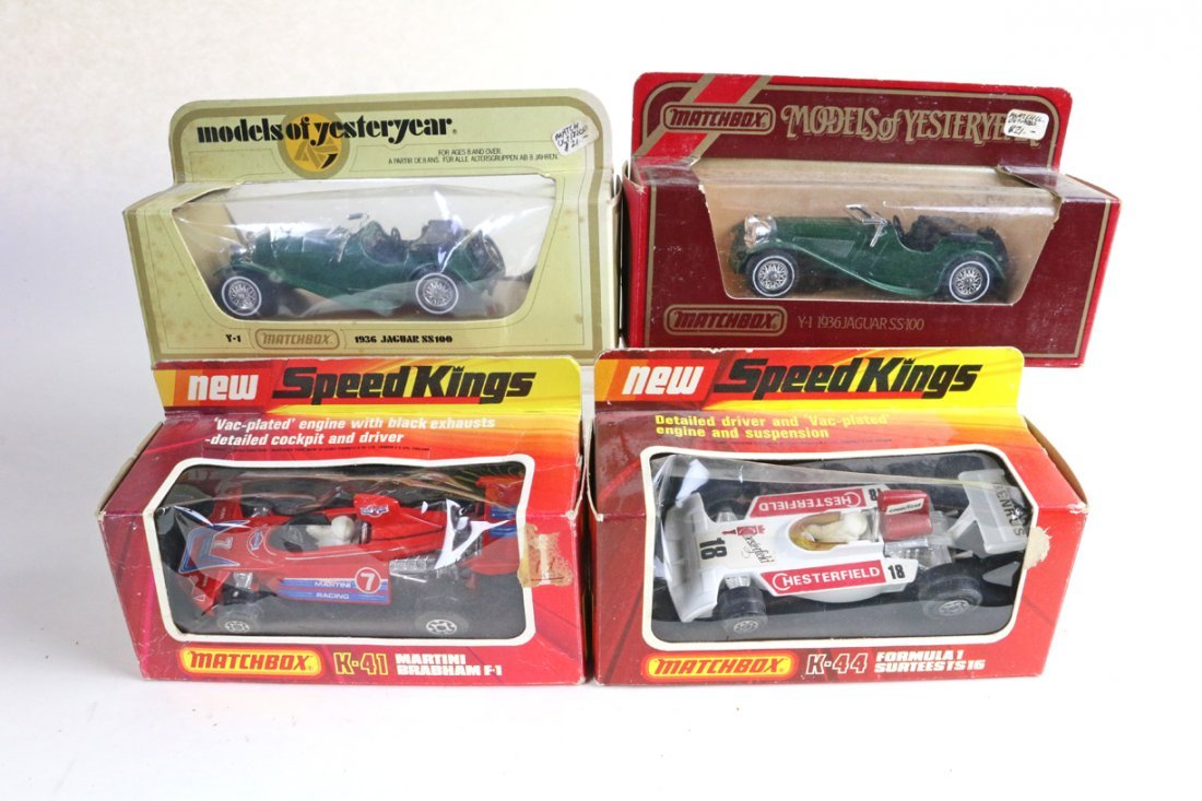 Matchbox Speed king Lot In Boxes