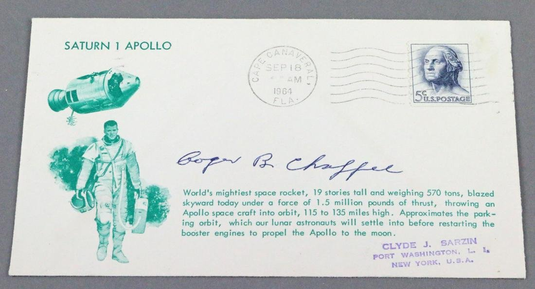Apollo Saturn One Roger Chafee 1964
