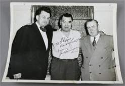 Jack Dempsey Boxer Signed Photo