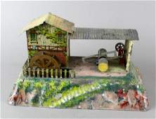 German Steam Toy Sawmill Bing