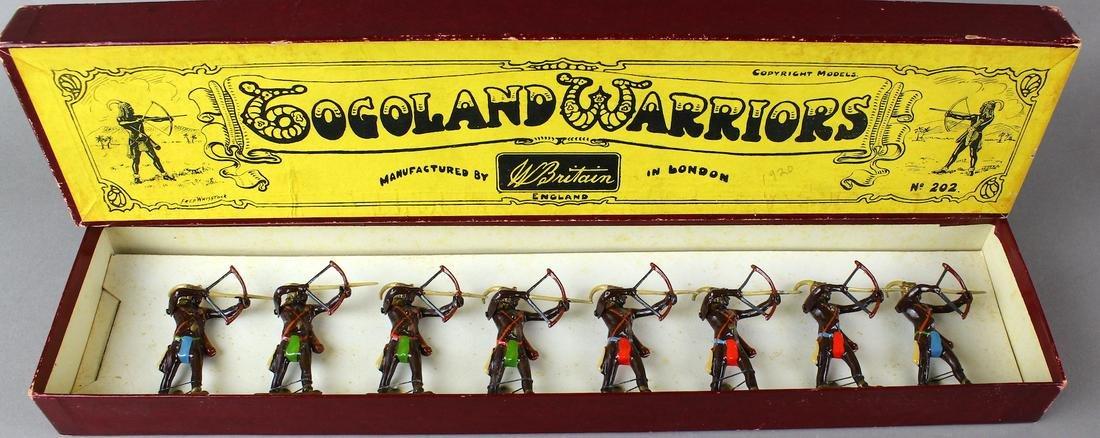 Britains Set Pre-War Togoland Warriors #202