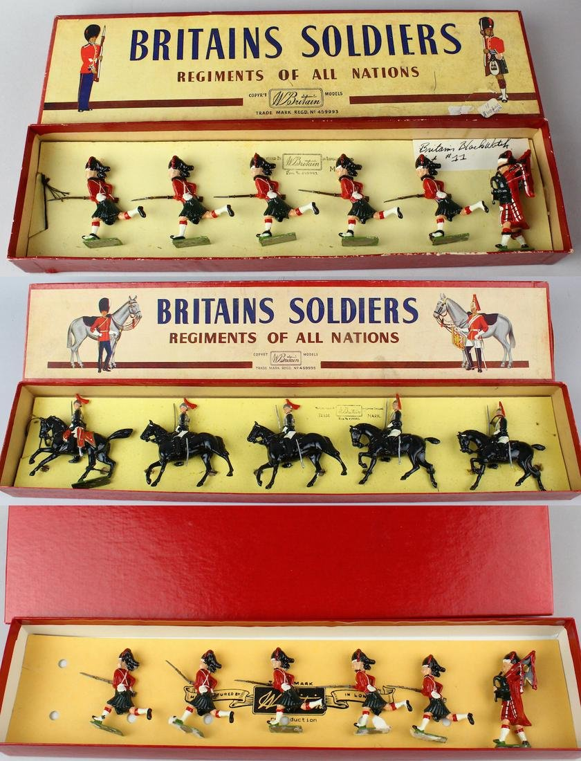 3 Britains Sets In Box