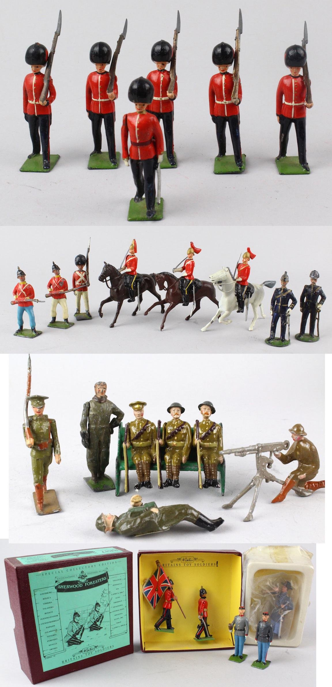 Britains Loose Soldier Lot Great Soldiers!