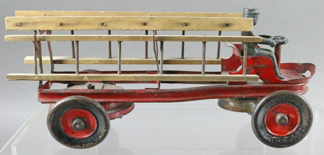 Kingsbury Ladder Truck Pressed Steel