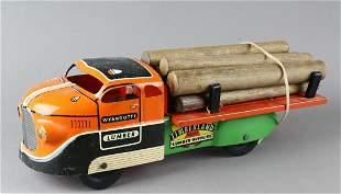 Wyandotte Lumber Timberland Truck w Logs
