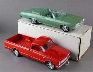 1967 Chevy Convertible & Chevy Pick Up Promo
