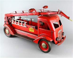 Keystone Pressed Steel Water Tower Fire Truck