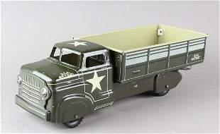 Marx Pressed Steel Army Truck