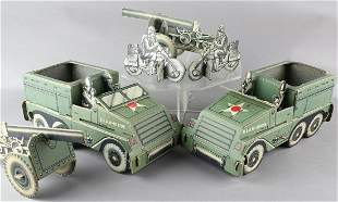 WWII Paper Army Trucks & Carriers