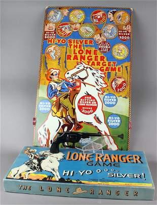 Lone Ranger Target Game & Game in box