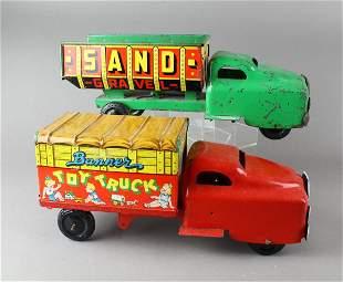 Banner Pressed Steel Trucks