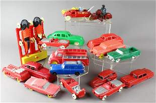 1950 Rubber & Plastic Car Collection