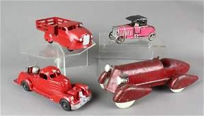 Wyandotte Racer Truck German Tin Racer Hubley