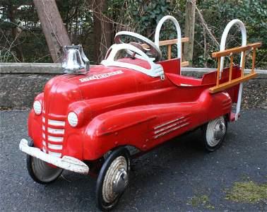 Murray City Fire Dept. Pedal Car