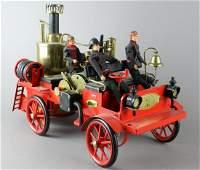 Wilesco German Fire Engine Live Steam