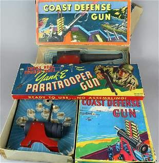 WWII Coast Defense & Paratrooper Guns Boxed