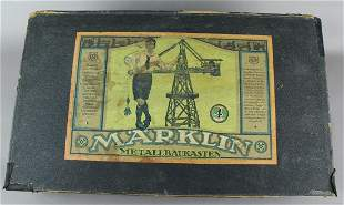 Early Marklin No. 4 Large Construction Set