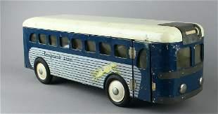 Buddy L Greyhound Bus 1940s