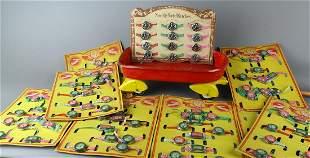 Japan Toy 5 & Dime Kiddy Wrist Watches & Wagon