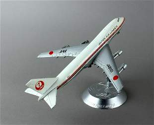 Diecast Aero Mini Japan JAL Desk Jet-Japan Airlines