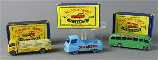 Matchbox Lesney Grey Wheel Trucks in Box