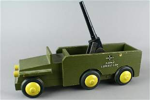 Buddy L Army Combat Car with Cannon