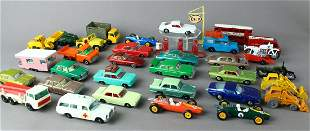 Large Group of Matchbox Cars & Trucks & Motorcycles