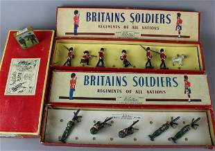 2 Britains in Box & Mignot box