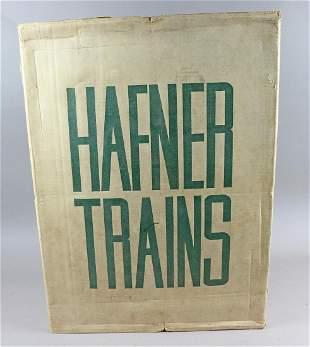 Hafner Train Set In Box 47439 Blue Streak