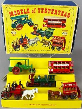 Matchbox Lesney G7 Gift Set in Box