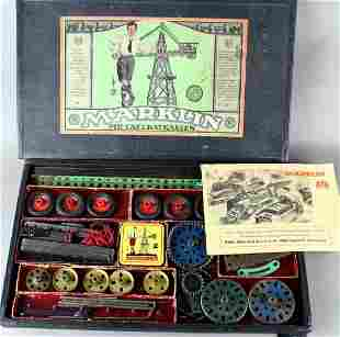 Early Marklin German Construction Set No.2  in Box