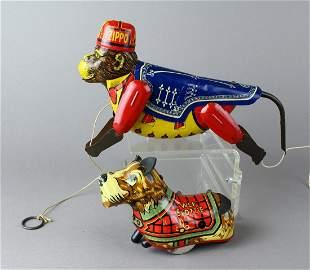 Marx Tin Toys Wee Scottie & Zippo