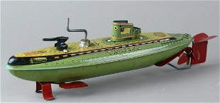 Marusan Japan Tin Submarine SSN 25