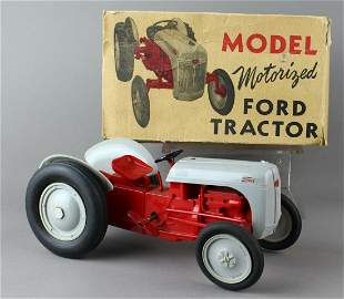 Model Toys Metal Ford Tractor Mint in Box