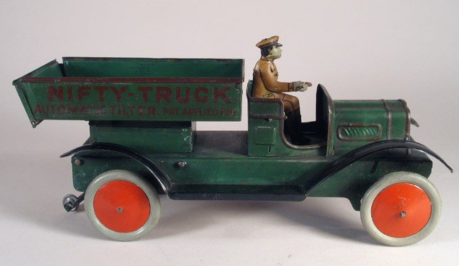 17: NIFTY Automatic Truck H FISCHER German 1920s